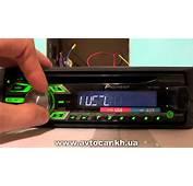 Видеообзор автомагнитолы Pioneer DEH 1500UBG  YouTube