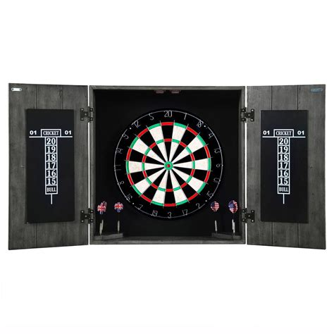 Dartboard And Cabinet Combo by Hathaway Newport 7 Ft Pool Table Combo Set With Benches