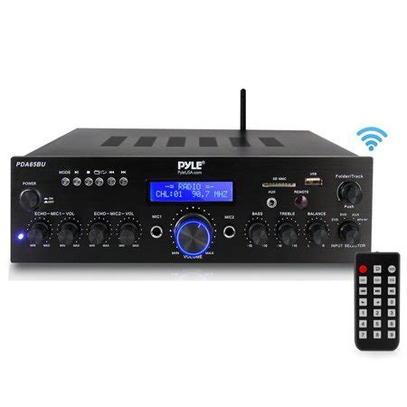pyle pdabu compact home theater amplifier stereo