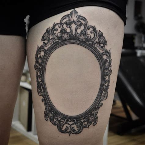 victorian tattoo designs frame tattoos