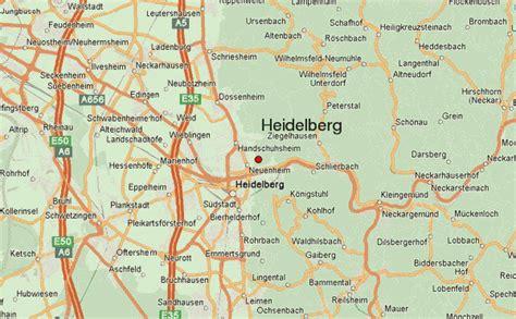 map heidelberg germany heidelberg location guide