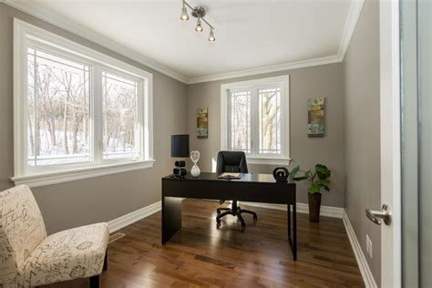 High End Home Office Design High End Home Staging In Ottawa By Capital Home Staging