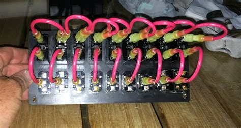 switch panel wiring the hull boating and