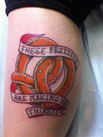 seinfeld tattoo pretzel seinfeld tattoos
