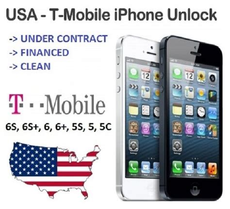 t mobile iphone 6 6s 6 5 5s factory unlock service code clean financed only ebay
