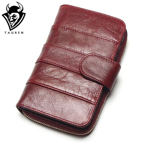 Import Bag Leather Kokoh 28x19115000 2018 new style layer of import wax cowhide medium paragraph buckle leather wallet s