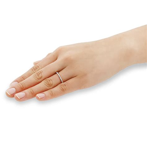 Plain Wedding Ring Design by Accent 14k Yellow Gold Wedding Ring Rope Design