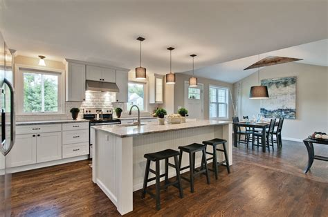 kitchen island with cabinets and seating southington ct builder relies on cliqstudios for quality