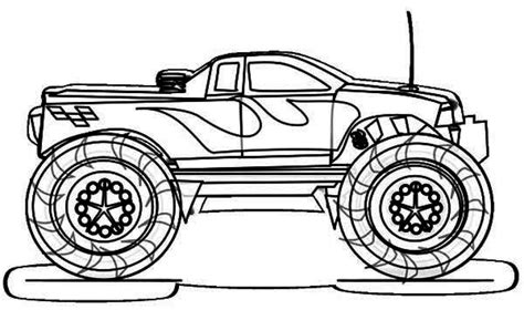 big car coloring page get this printable monster truck coloring pages online 81922