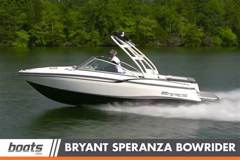 speranza boat bryant speranza video boat review boats