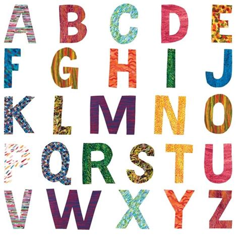 The Hungry Caterpillar Lettering