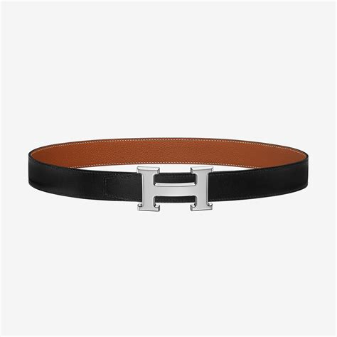 Hermes Reversable Belt With Hpalladium Buckle Gold Mirror Quality h belt buckle reversible leather 32 mm herm 232 s