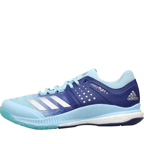 buy adidas mens crazyflight x shoes blue silver metallic mystery ink