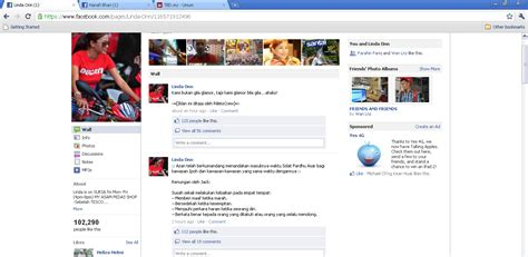 fb brute page facebook linda onn kena hack keyboard exploit