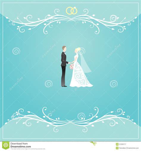wedding invitation border designs aqua blue wedding card stock vector illustration of blue groom 31250717