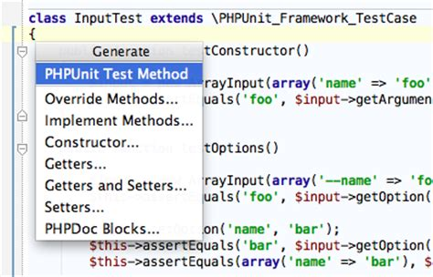 creating phpunit tests in phpstorm phpstorm confluence