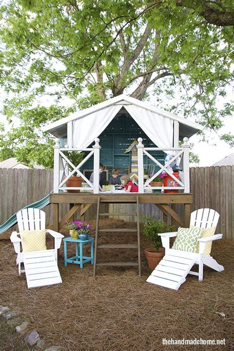 Handmade Home Playhouse - is like a box of chocolates and a house the