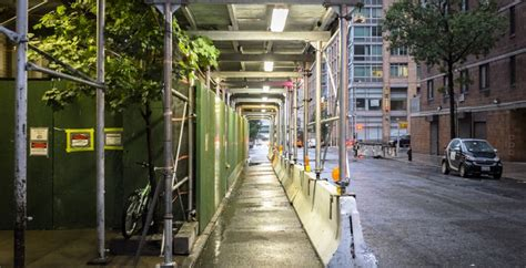 Sidewalk Shed Nyc by New York Design Competition Looks To Shed The Sidewalk