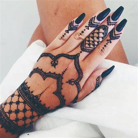 beautiful henna fannylyckman tattoo female pinterest