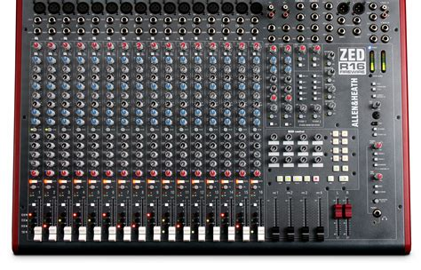 Mixer Allen Heath 8 Chanel zed r16 allen heath