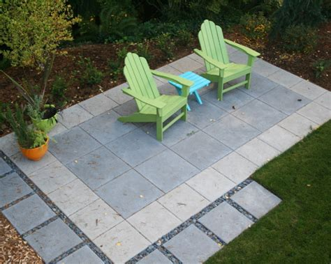 Concrete Paver Patio Design Pictures Remodel Decor And Concrete Paver Patio