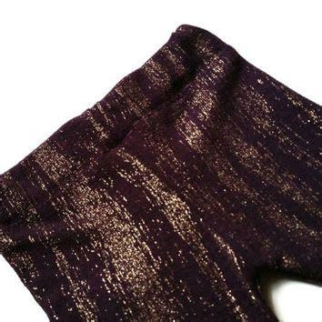 Bandana Baby Glitter Purple Bow Lucu rockabilly hair bow white and black from rockabillyrevolt on