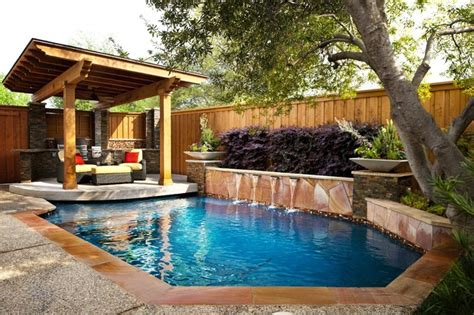 pools for small spaces small space renovation traditional pool dallas by