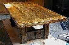 dining table barnwood dining table