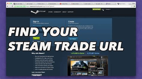 How To Search For In Steam How To Find Your Steam Trade Url For Skins Betting
