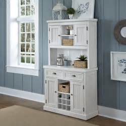 furniture traditional white kitchen buffet with beadboard