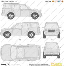 the blueprints vector drawing land rover discovery lr3