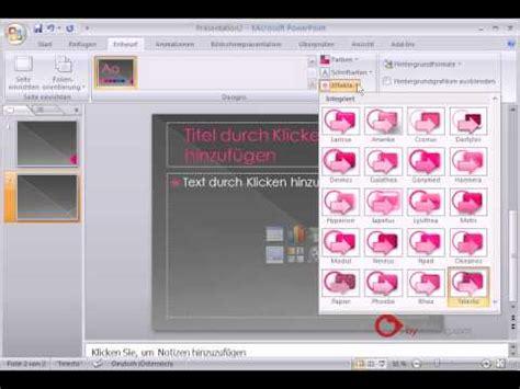 tutorial powerpoint deutsch powerpoint pr 228 sentation tutorial deutsch designs youtube