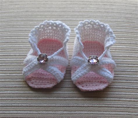 knitted baby sandals free pattern crochet sandals for a baby by knittinkitty craftsy