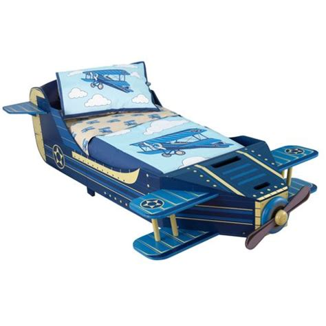 toddler airplane bed buy kidkraft airplane toddler bed from our toddler beds