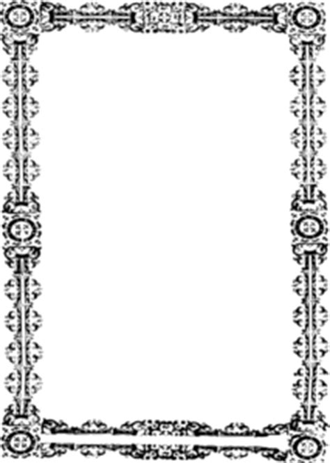 simple ornate frame clip at clker vector clip