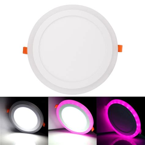 Vinder Slim Downlight Panel 15w ultra slim 6w 9w 18w 24w concealed dual color led panel light cool white l downlight ac