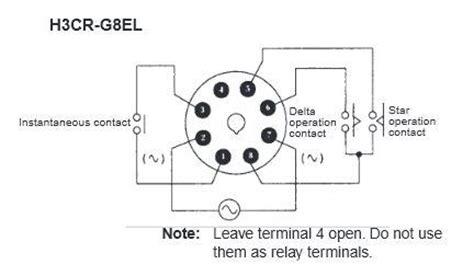 Saklar 8 Pin h3cr g8el 200 240vac omron delta timer jababekaelektric