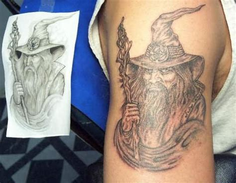 ink wizard tattoos wizard designs pictures to pin on thepinsta