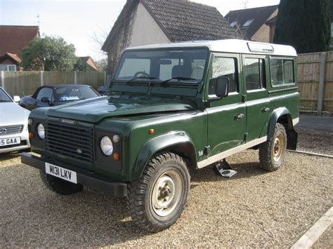 green land rover defender land rover defender 110 5 door county station wagon 300