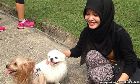 islam and dogs malaysia islamic authorities probe patting event naharnet