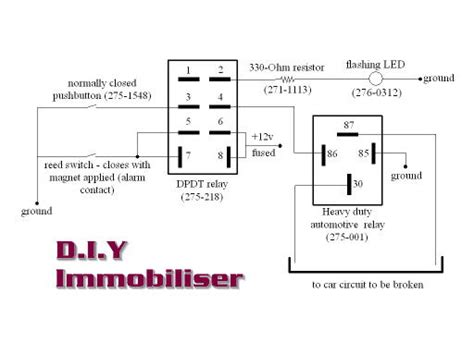 car immobiliser wiring diagram wiring diagram schemes