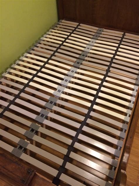 what is a slatted bed base ikea hack custom size slatted bed base project du jour