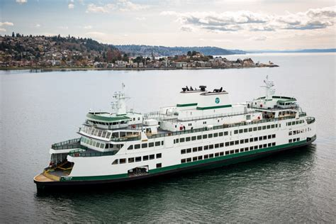 ferry boat jobs seattle shiny new ferry chimacum joins seattle bremerton route