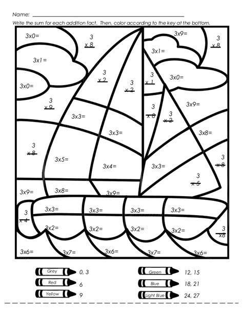 Multiplication Mystery Picture Worksheets by Search Results For Times Table Sheet