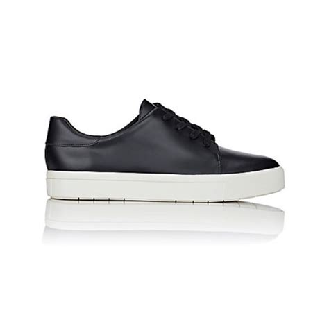 black sneakers white sole 57 vince shoes vince nwb black leather white sole