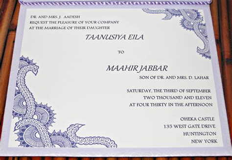 Wedding Invitation Card Sle Design by Muslim Wedding Invitation Cards Designs Free 4k Wallpapers