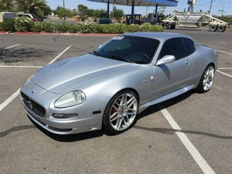 2005 Maserati Gransport For Sale by Maserati Gransport For Sale Carsforsale