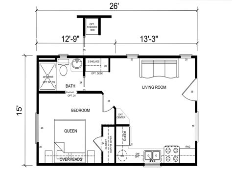 floor plans with guest house tiny house floor plans for families small cabins tiny