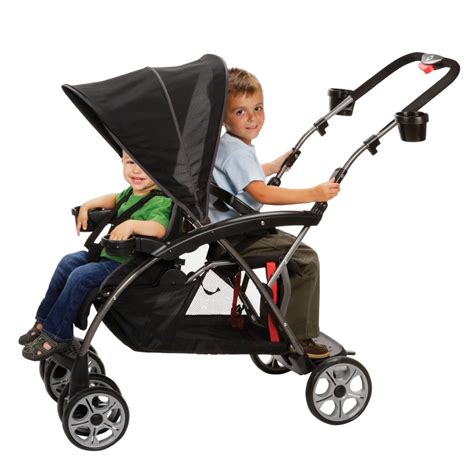 Chair Stroller Familly safety 1st stand on board classic black discontinued by manufacturer standard