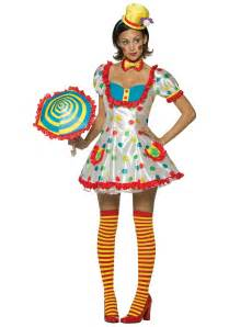 it the clown costumes for halloween womens clown costume